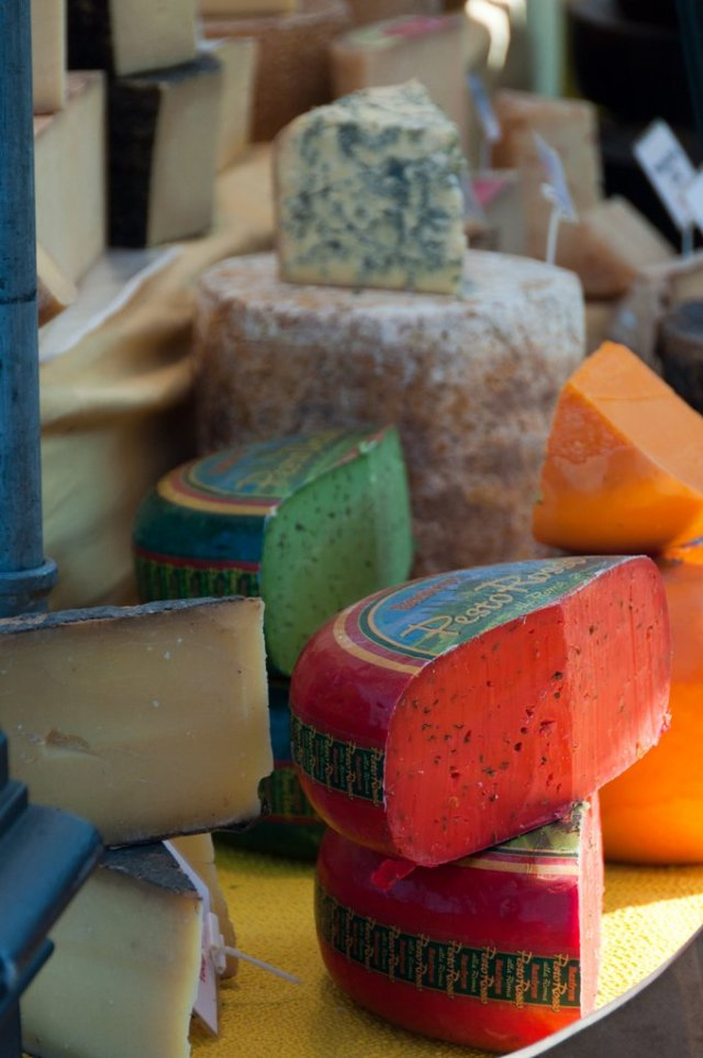 Flavoured cheese, Lucerne Markets