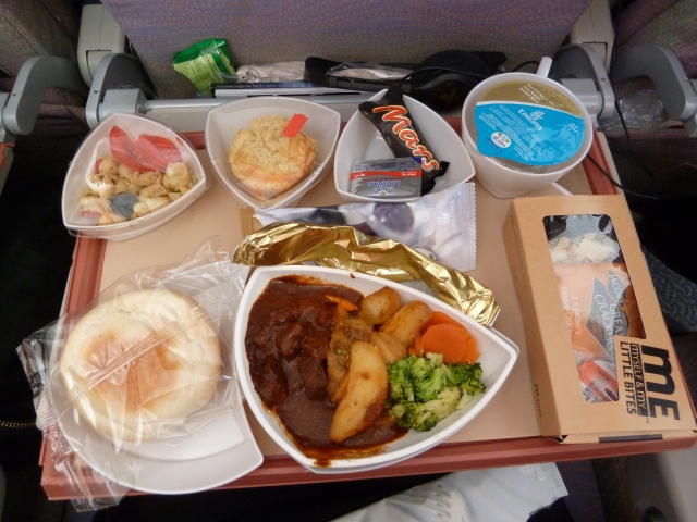 Plane food, Emirates