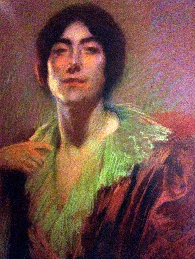 Albert Besnard, Portrait of a woman c1900