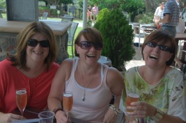 Time with friends, Sirromet Winery, February
