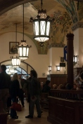 Hofbrauhaus lighting, Munich