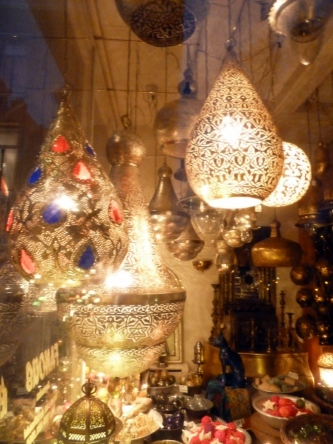 Lamps for sale, Amsterdam