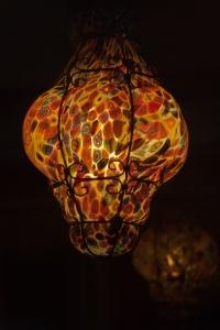 Venetian glass lamp